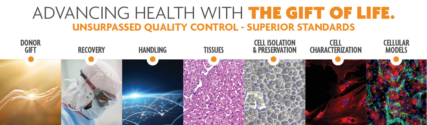 LifeNet Health LifeSciences advances health with the gift of life using superior standards, unsurpassed quality control and exceptional service. Human tissues, human cells, human models.