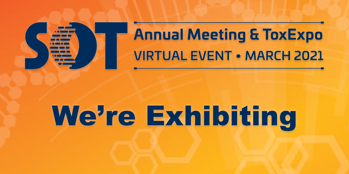 LifeNet Health LifeSciences will be exhibiting at the 2021 Society of Toxicology Annual Meeting and ToxExpo