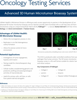 Brochure - Oncology Testing Services Brochure