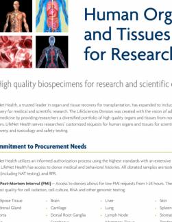 Brochure - Research Tissue Brochure